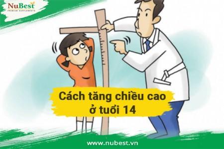 #12 Cách tăng chiều cao ở tuổi 14 từ 2-5cm cho nam và nữ
