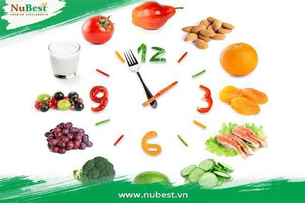 ăn đúng giờ giúp tăng chiều cao nhanh