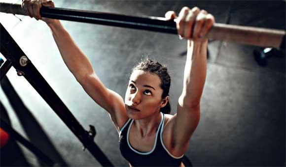 Hít xà đơn là bài tập gym tăng chiều cao có hiệu quả nhanh nhất