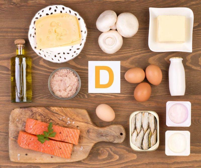 bổ sung vitamin D từ thực phẩm