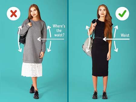 cách tăng chiều cao với trang phục phù hợp