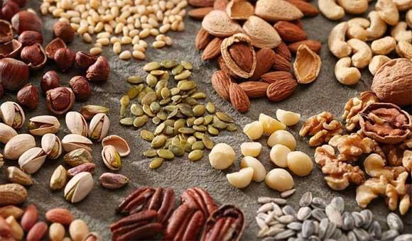 Trong hạt có nhiều chất béo thực vật tốt cho sức khỏe