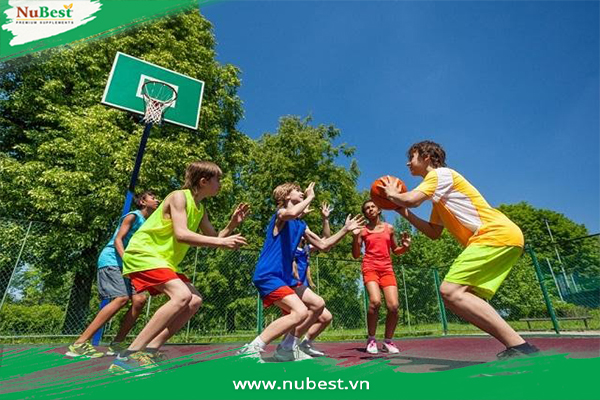 tập luyện thể dục thể thao tăng chiều cao ở tuổi 13