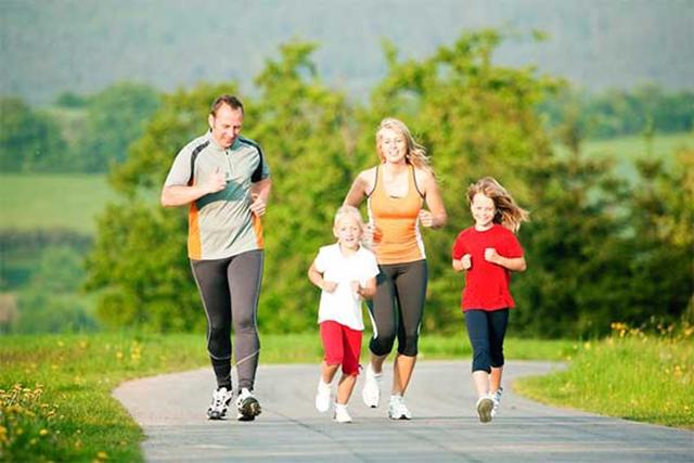 Vận động thường xuyên giúp xương phát triển tốt hơn