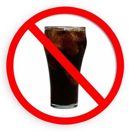 tránh uống nước ngọt để giảm cân tăng chiều cao