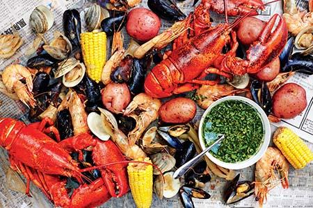 hải sản thực phẩm giàu kẽm