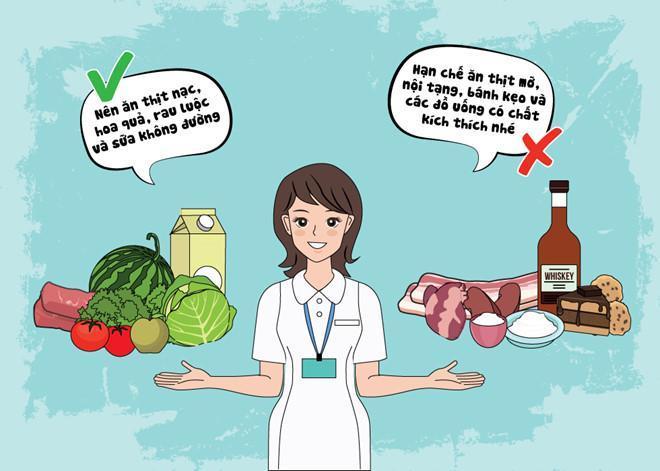 Một chế độ ăn uống hợp lý sẽ giúp giảm cân tốt nhưng vẫn đảm bảo dinh dưỡng tăng chiều cao hiệu quả