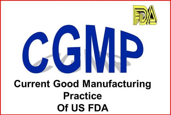 chứng nhận CGMP