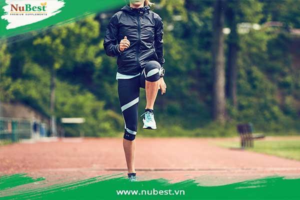 khởi động trước khi chạy bộ