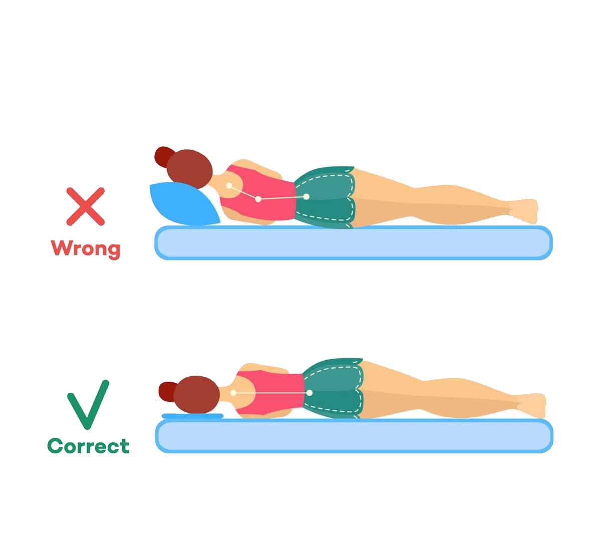 tư thế nằm nghiêng khi ngủ sẽ tốt cho chiều cao