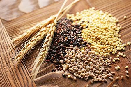 ngũ cốc nguyên hạt thực phẩm giàu kẽm
