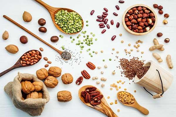 nhiều loại ngũ cốc