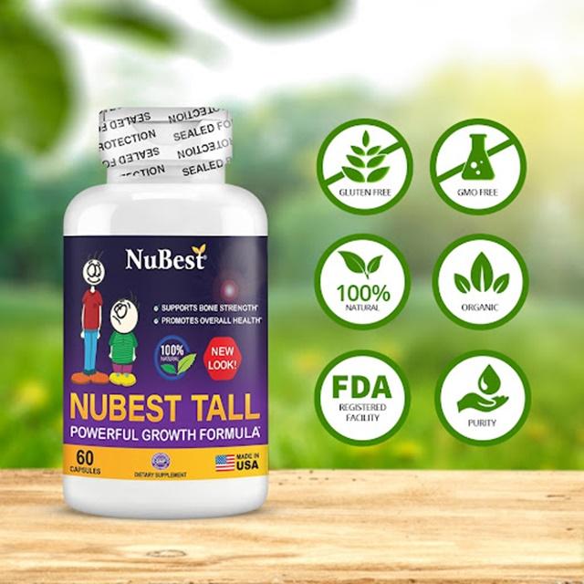 NuBest Tall - Sản phẩm hỗ trợ tăng chiều cao nhận được nhiều chứng nhận uy tín