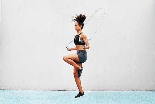 Nhảy dây vừa giúp duy trì cân nặng vừa kích thích xương phát triển