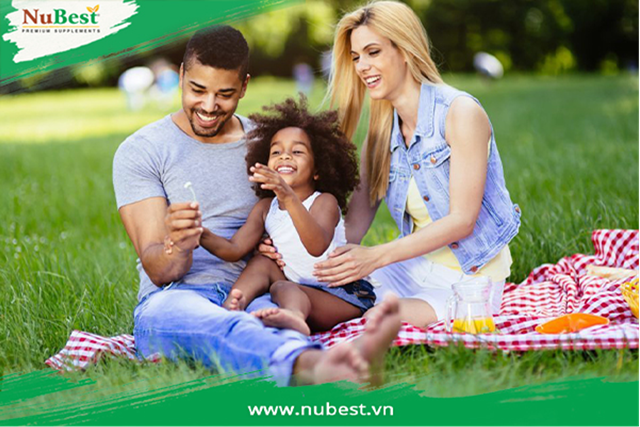 Môi trường sống trong lành giúp trẻ có điều kiện tốt để phát triển thể chất