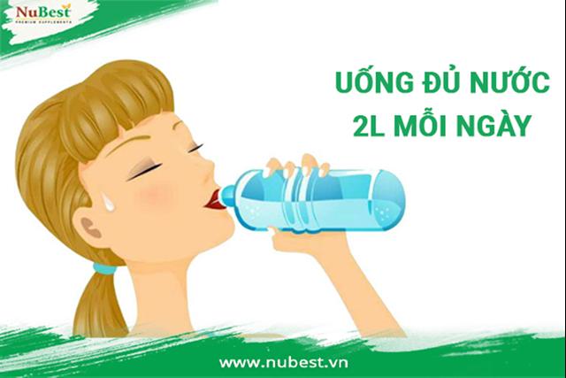 Cung cấp đủ lượng nước cơ thể cần để giúp cao hơn