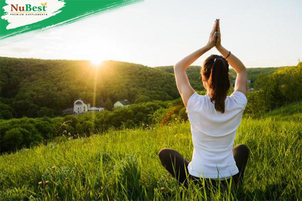 Tập yoga giúp giảm căng thẳng hiệu quả