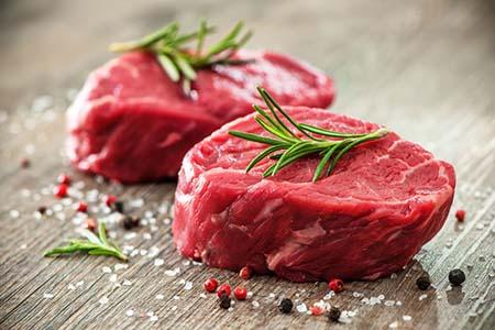 thịt đỏ thực phẩm giàu kẽm
