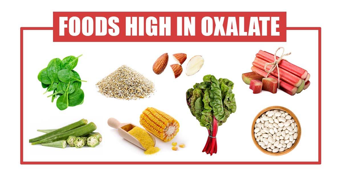 thực phẩm chứa nhiều Axit oxalic