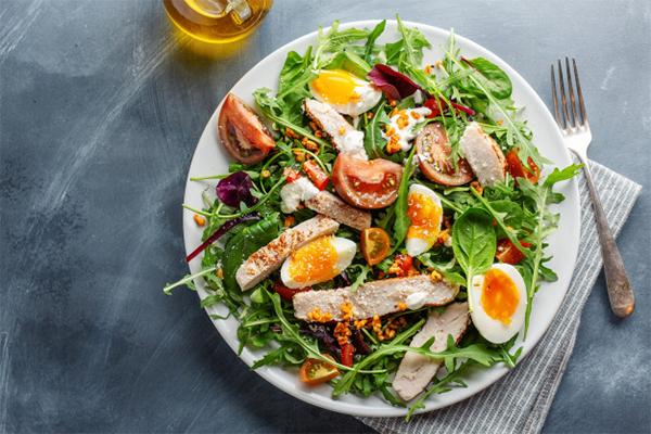 thức ăn giàu protein
