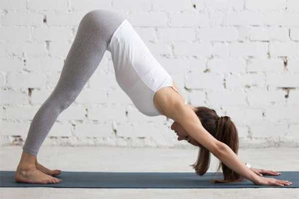 Tư thê yoga chó úp mặt